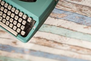 Writing workshop typewriter